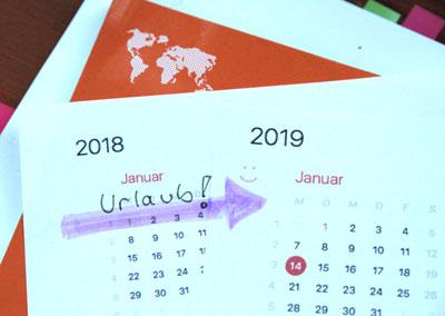 Urlaub Mit Ins Nächste Jahr Nehmen